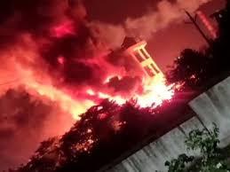 आंध्र प्रदेश : विशाखापत्तनम के फार्मा कंपनी में लगी भीषण आग, 4 घायल