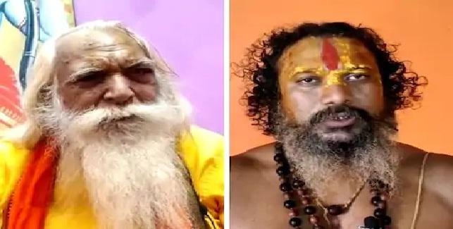 स्वरूपानंद सरस्वती के बयान पर भड़के अयोध्या के संत, शास्त्रार्थ की चुनौती