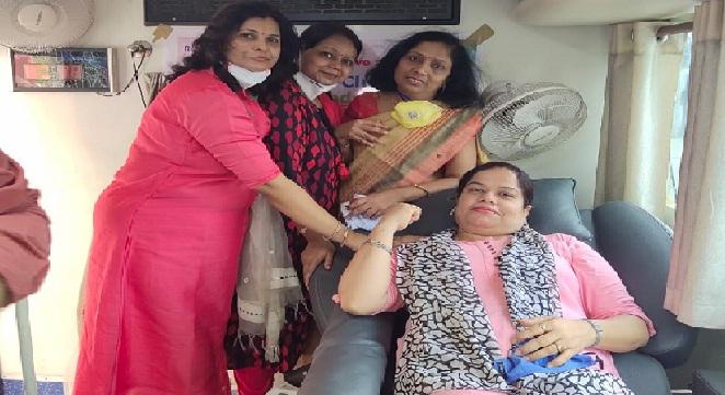 रोटरी क्लब गोण्डा ग्रीन ने किया रक्तदान