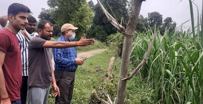 Gonda News : गन्ना किसानों की बैठक