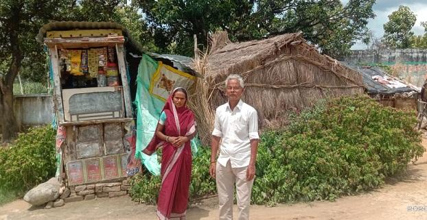 Gonda News : गरीब का आशियाना उजाड़ने को आमादा है प्रधान