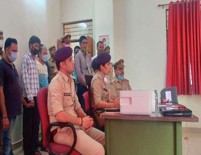 विभाग आटो चोरी करने वाले गिरोह के सात सदस्य गिरफ्तार