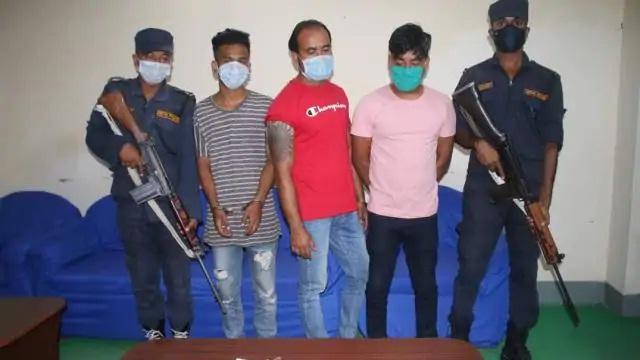 Bahraich News:तीन अन्तरराष्ट्रीय तस्कर गिरफ्तार, सोना व चांदी बरामद