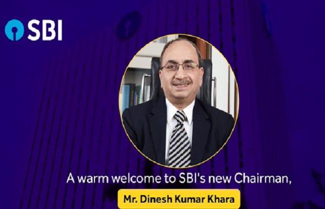 एसबीआई के नए प्रमुख दिनेश कुमार खारा ने कार्यभार संभाला