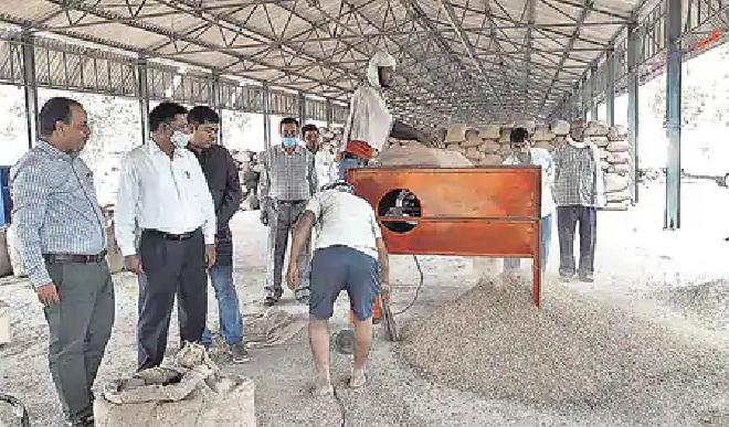 Basti News:बंद मिले 16 धान क्रय केंद्रों को नोटिस जारी