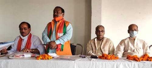UP News : भाजपा मंडलों के कार्यशाला की समीक्षा व स्नातक चुनाव पर बनी रणनीति
