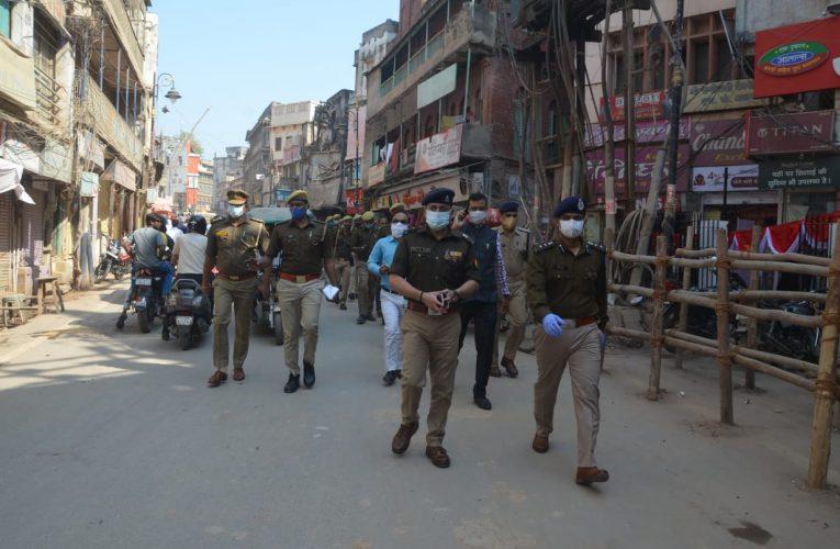 UP News : स्वर्णमयी अन्नपूर्णा दरबार में एसएसपी ने सुरक्षा व्यवस्था को परखा, दिए निर्देश