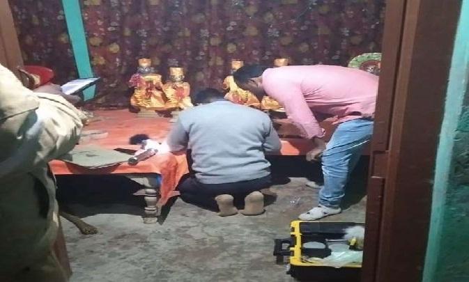Shravasti News:दिनदहाड़े अष्टधातु की करोड़ों की मूर्ति चोरी