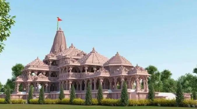 राम मंदिर निर्माण : नींव की खुदाई कर पत्थरों को बिछाकर बनेगा आधार
