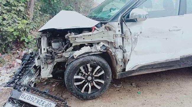Barabanki News:कार चालक ने दो मासूमों को मारी टक्कर, मौके पर हुई मौत