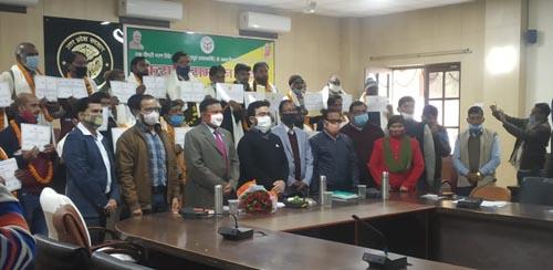 UP News : किसान दिवस पर सम्मान समारोह में 34 कृषक हुए सम्मानित