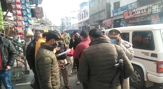 UP News : चोरी के वाहनों की तलाश में हरियाणा पुलिस का सोतीगंज में छापा