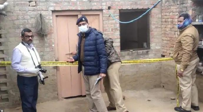 Ayodhya News:पत्नी की गला काटकर हत्या, खून से लथपथ मिली लाश