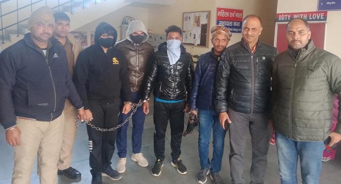Gonda News:गौरव के पुराने परिचित हैं दो अपहर्ता, अब तक पांच गिरफ्तार