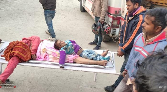 Ayodhya News:ट्रक की टक्कर में आकर दो लोगों की मौत