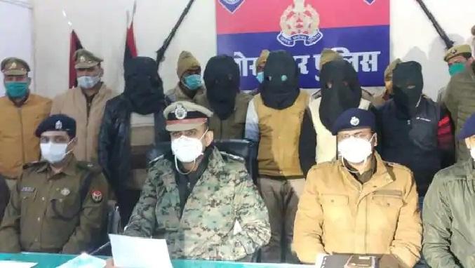UP News:नकली नहीं, असली पुलिस ने लूटे थे 30 लाख, दरोगा समेत पांच गिरफ्तार
