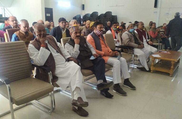 बलरामपुर : पूरे दम खम से लड़कर जीतेंगे पंचायत चुनाव-शेष नरायण मिश्रा