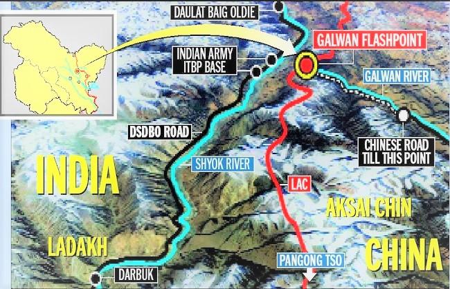 National News : आखिरकार भारत ने बनाई गलवान घाटी तक सड़क