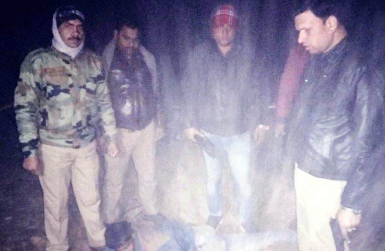 Kanpur News : पुलिस की पिस्टल लूटकर भाग रहे लुटेरे को मुठभेड़ में लगी गोली, गिरफ्तार