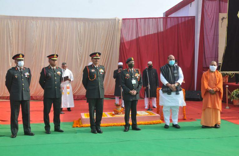 इंडो चाइना स्टैंड ऑफ के दौरान सेना ने करिश्माई काम करके देश का मस्तक किया ऊंचा : राजनाथ