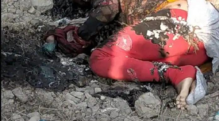 Ayodhya News:हाथ-पैर बांधकर युवती को बोरे में भरकर जलाया
