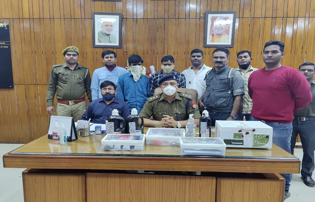 Lucknow News :  ऑनलाइन ठगी करने वाले दो गिरफ्तार