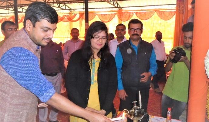 Shravasti News:पोषण वाटिका की स्थापना के लिए प्रशिक्षण आयोजित