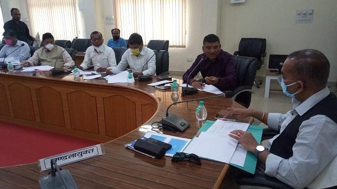 उद्योग बंधु की बैठक में आयुक्त का निर्देश, 20 मार्च तक हर हाल में बांटें मार्जिन मनी