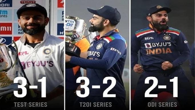 टीम इंडिया का विजय रथ जारी