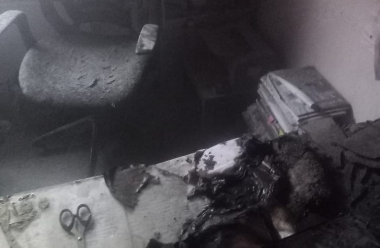 रेल भवन के कमरे में लगी आग, कोई हताहत नहीं