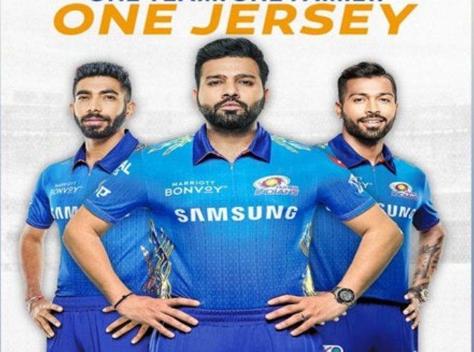 Sport News : मुंबई इंडियंस ने आईपीएल के आगामी संस्करण के लिए नई जर्सी का किया अनावरण