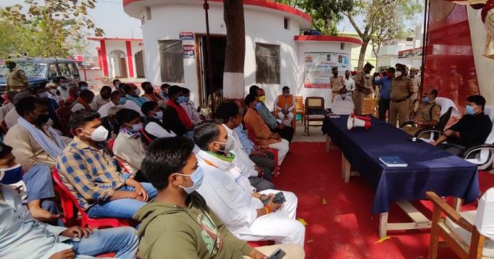 Shravasti News:डीएम एसपी ने की प्रत्याशियों संग की बैठक, पढ़ाया आचार सहिता का पाठ