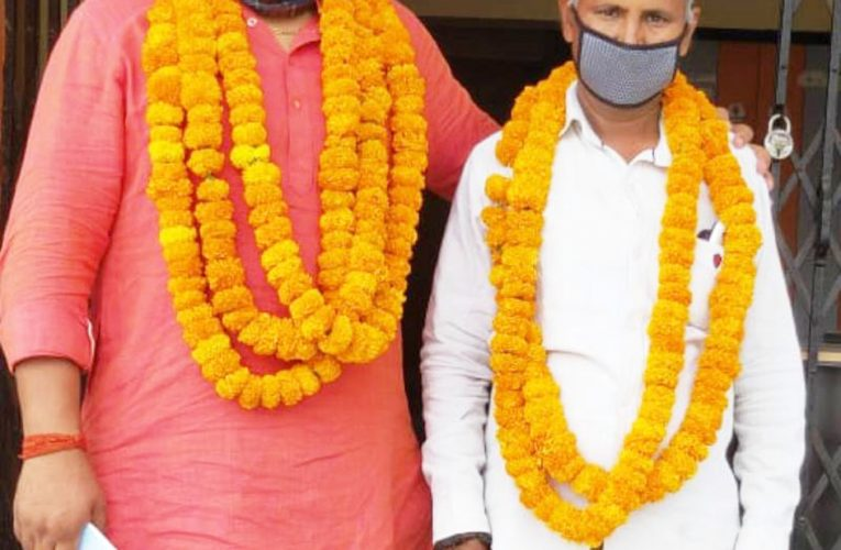 बस्ती :  रंग लाई भाजपा नेता दुष्यंत विक्रम की पहल, सल्टौआ ब्लाक से एक मात्र निर्विरोध बीडीसी बने विनोद