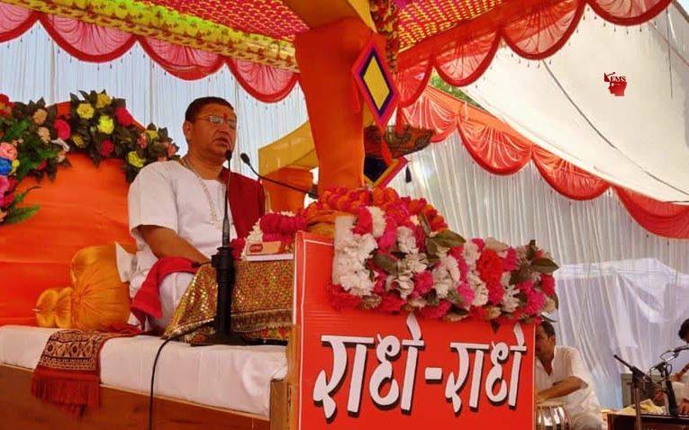 रासलीला जीव एवं परमात्मा का मिलन : अतुल कृष्ण पांचवे दिन भी जारी रहा श्रीमद्भागवत कथा