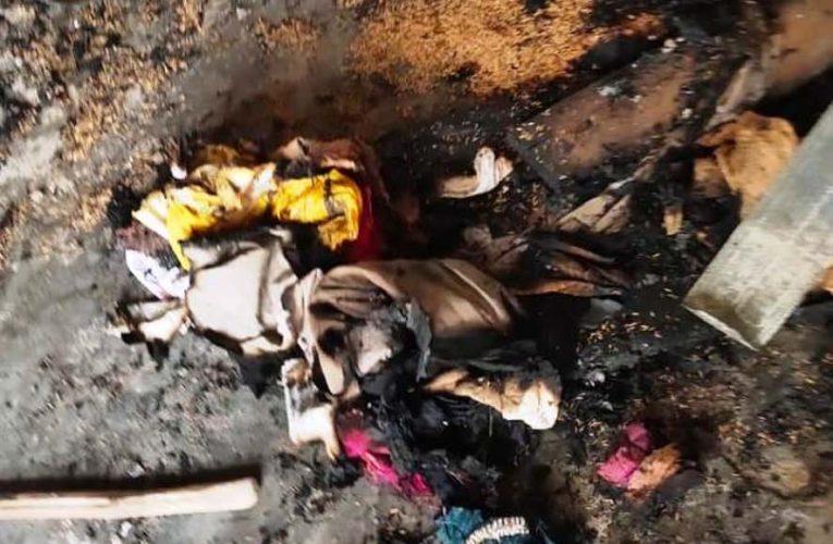बस्ती : 'आनन्द वाशिंग कम्पनी' के वर्कशाप में आग लगने से लाखों की क्षति
