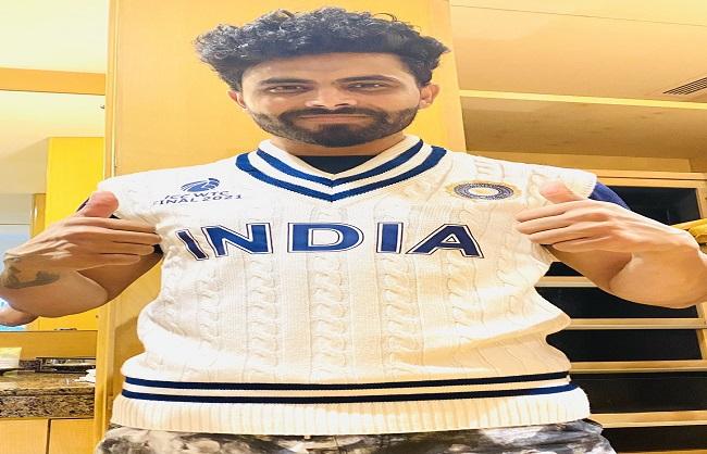 खेल : नई जर्सी में विश्व टेस्ट चैंपियनशिप के फाइनल में उतरेगी भारतीय क्रिकेट टीम