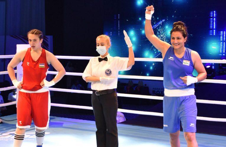 खेल : भिवानी की पूजा ने उज्बेक बाक्सर को हरा जीता स्वर्ण