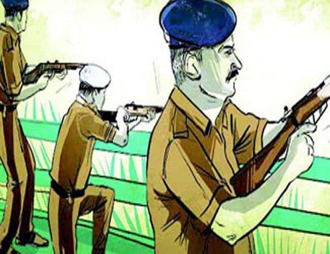 अयोध्या : संक्षिप्त मुठभेड़ के बाद अयोध्या में पांच लोगों की हत्या का आरोपी गिरफ्तार