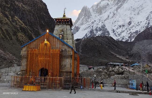 राज्य : श्री केदारनाथ धाम के कपाट खुले, पीएम मोदी की ओर से हुई पहली पूजा