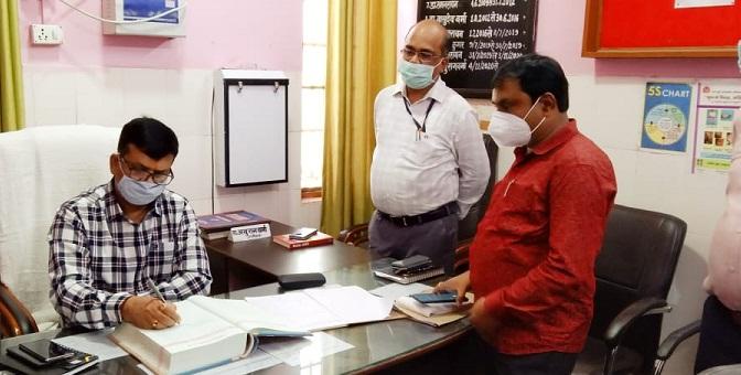Bahraich News: CHC मोतीपुर का DM ने किया औचक निरीक्षण