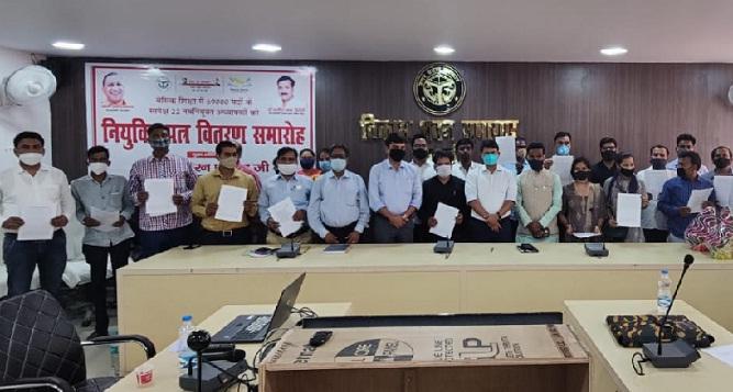 Shravasti News:नियुक्ति पत्र पाकर खिल उठे 22 नवनियुक्त शिक्षकों के चेहरे