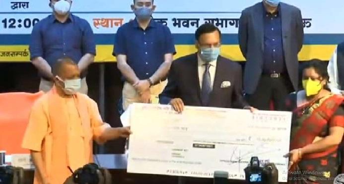 UP News: कोरोना से मृत 55 पत्रकारों के परिजनों को CM ने किया दस-दस लाख की सहायता