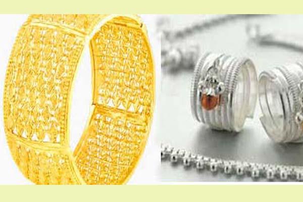 व्यापार : सोना और चांदी में तेजी