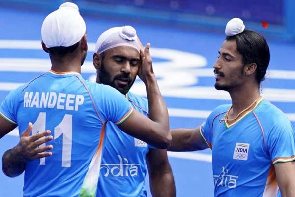 टोक्यो ओलंपिक : भारतीय पुरुष हॉकी टीम ने स्पेन को 3-0 से हराकर शानदार वापसी की