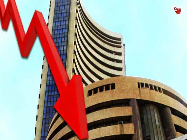 व्यापार :  शेयर बाजार गिरावट के साथ बंद