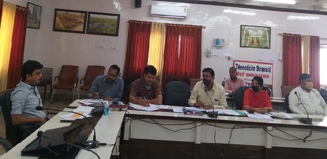 Shravasti News: CDO की अध्यक्षता में कौशल समिति की बैठक