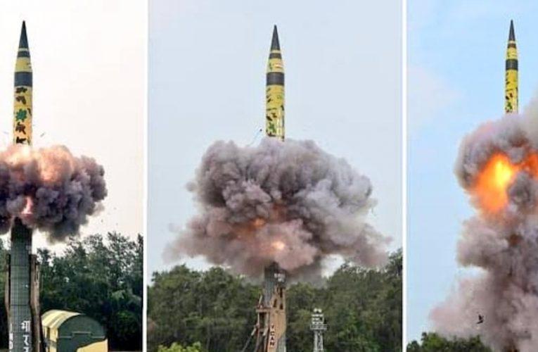 यूजर ट्रायल के बगैर सेना में शामिल होगी अग्नि-5 मिसाइल