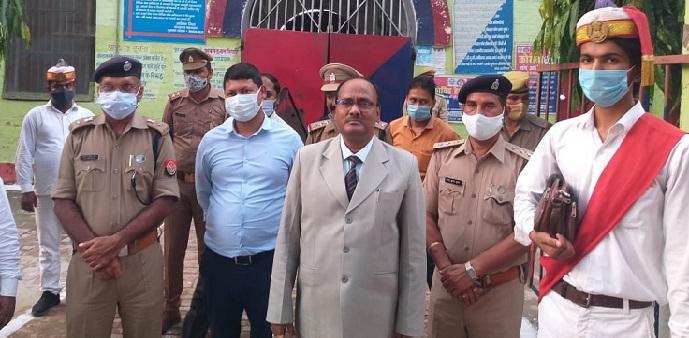 Shravasti News: अधिकारियों ने किया जिला कारागार का निरीक्षण