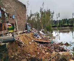 बस्ती: मकान ढहने से दो लोगों की मौत, आठ लोग घायल